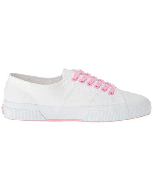 38cace5cd5de Lyst - Superga Unisex 2750 Cotu Classic Sneaker in Pink - Save ...