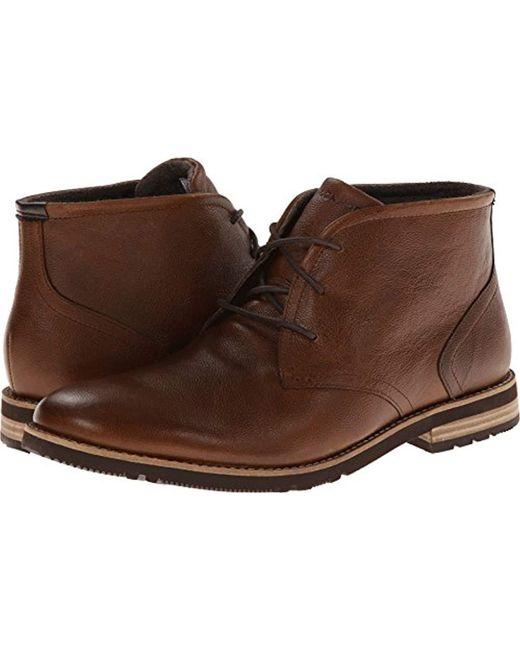 Rockport - Brown Ledge Hill 2 Chukka Boot for Men - Lyst