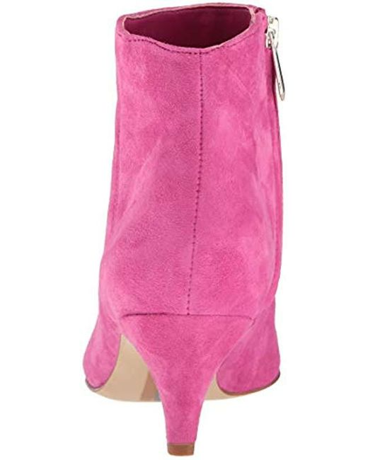89b313072 Lyst - Sam Edelman Kinzey Fashion Boot in Pink - Save 61%