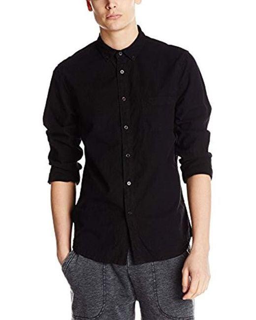 Alternative Apparel - Black Industry Chambray Shirt for Men - Lyst