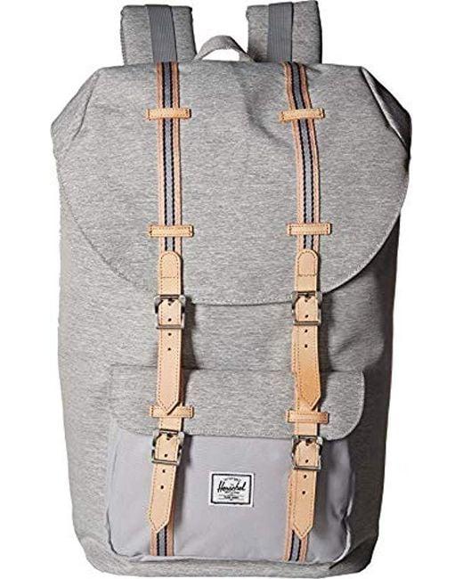 Herschel Supply Co. - Gray Little America Backpack for Men - Lyst ... 94b06260e6b3d