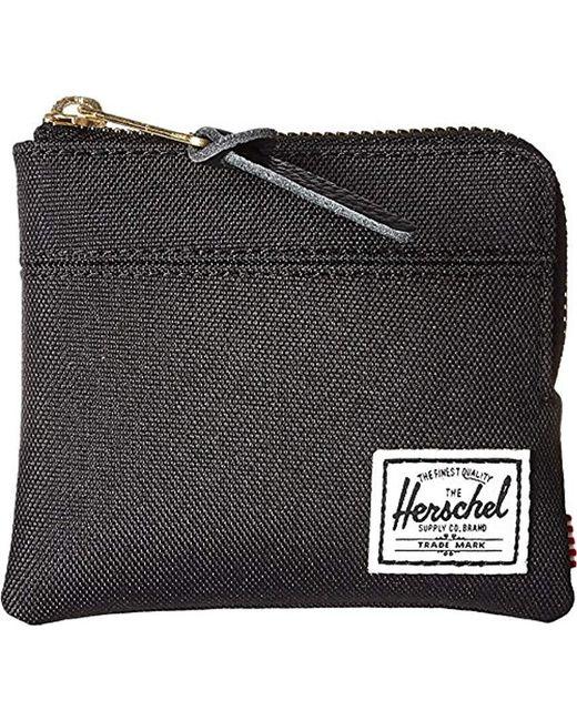 Herschel Supply Co. - Black Johnny Wallet for Men - Lyst