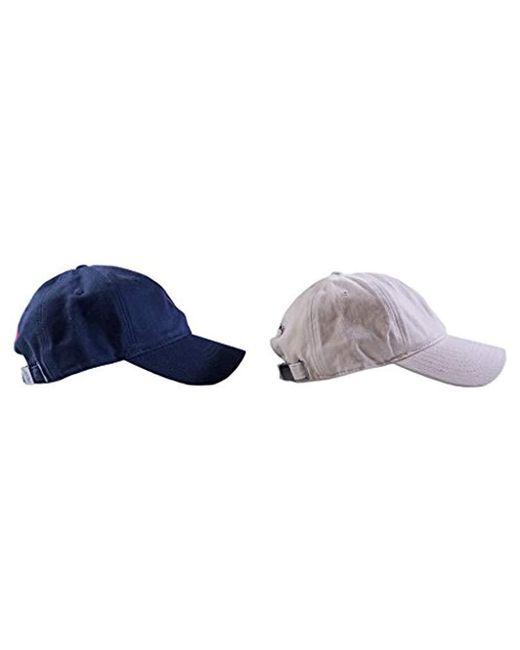 9ece267a7d6 ... 2 U.S. POLO ASSN. - Blue Washed Twill Baseball Cap