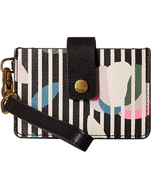 Fossil - Multicolor Mini Tab Wallet - Lyst