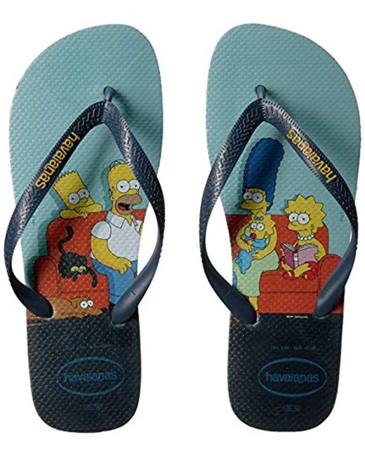 69275be3e91 ... Havaianas - Blue Flip Flop Sandals