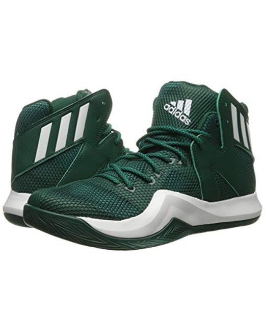 f680f834b ... shop adidas green performance crazy bounce basketball shoe for men lyst  ca3e1 7d791 ...