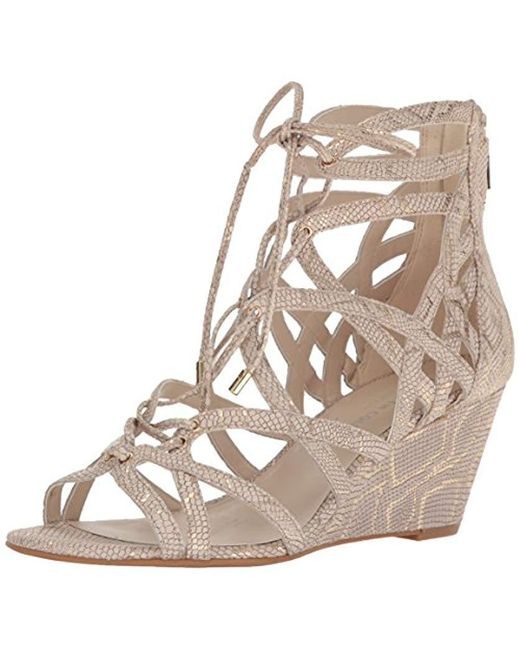 Kenneth Cole - Multicolor Dylan Wedge Sandal - Lyst