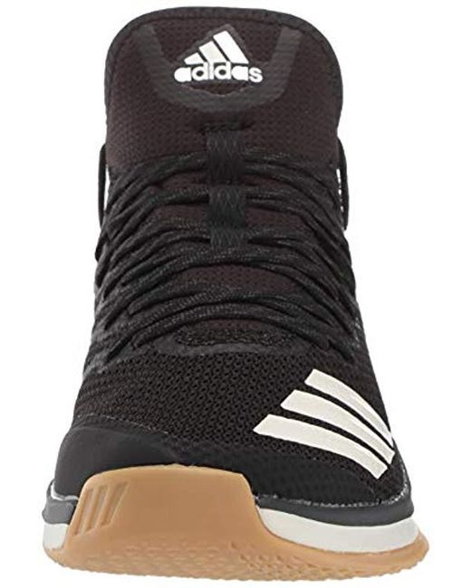 adidas Performance Icon 4 Baseball Shoe in Black for Men Lyst