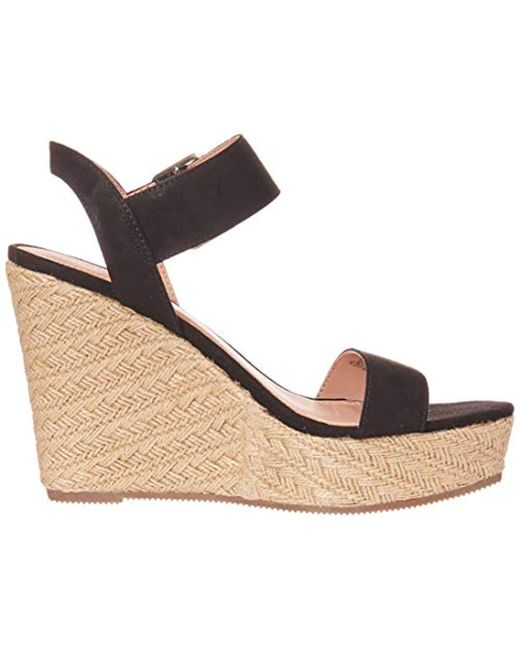 967614e5312 Lyst - Madden Girl Vail Espadrille Wedge in Black - Save 2%