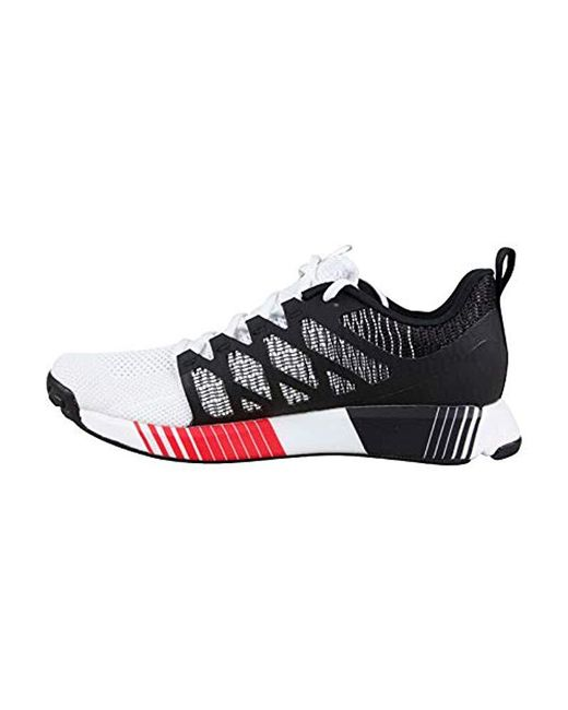a1ffff0b274d3b ... Reebok - Fusion Flexweave Cage (black primal Red white) Men s Shoes for  ...