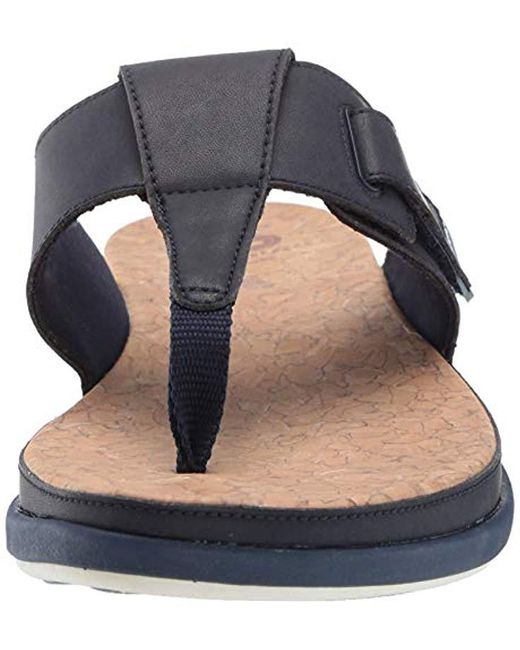 a1a2b0785ba Lyst - Clarks Step June Reef Sandal in Blue - Save 24%
