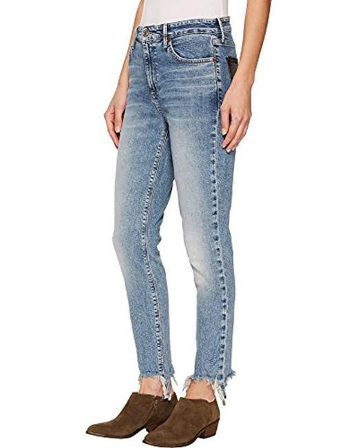ae8487d72a254 Lyst - Lucky Brand Brooke Legging Jean In Byers in Blue - Save 88%