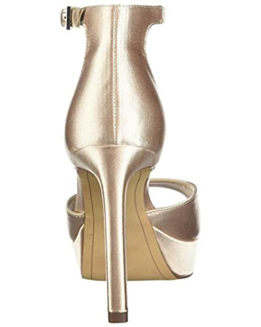 74f36aa3211 Lyst - Sam Edelman Jerin Heeled Sandal in Natural - Save 3%