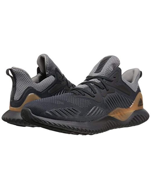 official photos 2c197 4fc15 ... Adidas - Gray Alphabounce Beyond M Running Shoe for Men - Lyst ...