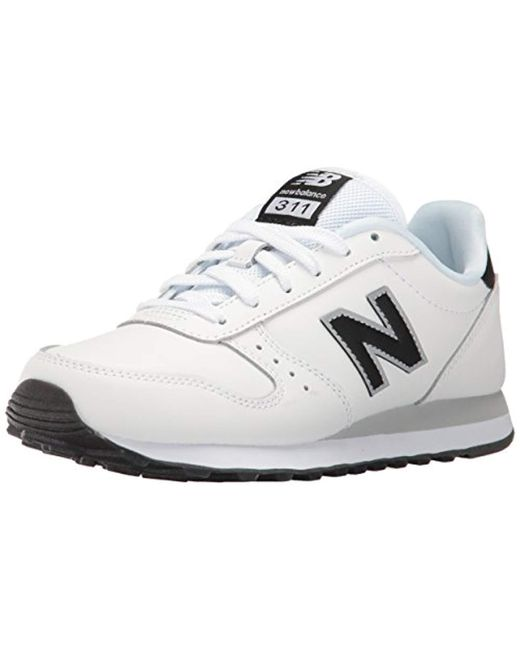 New Balance - White 311 Lifestyle Fashion Sneaker - Lyst