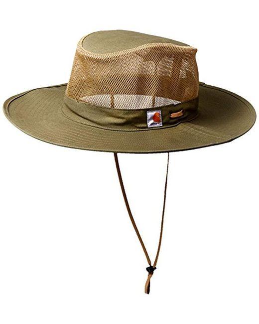 Carhartt - Green Odessa Sun Hat - Lyst ... 3b188c3087a