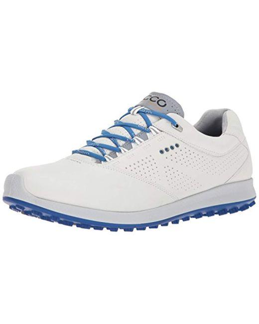 Ecco - Blue Biom Hybrid 2.0 Golf Shoe for Men - Lyst