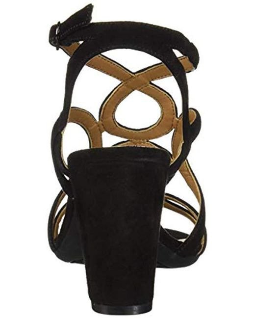 b1ad99a043dde Women's Black Early Bird Heeled Sandal