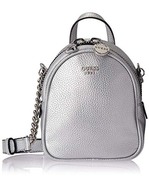 2681d42aa9e5 Lyst - Guess Urban Chic Metallic Mini Crossbody Bag in Metallic