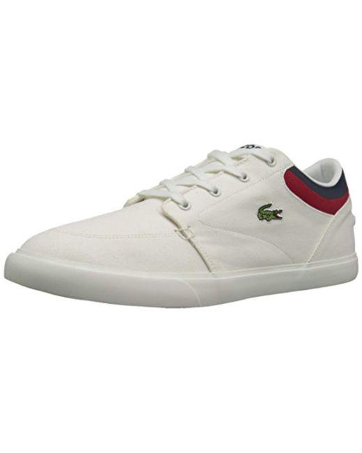Lacoste - White Bayliss 316 4 Spm Fashion Sneaker for Men - Lyst