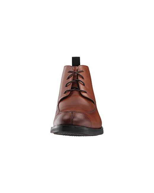 52cb326416 ... Cole Haan - Brown Wagner Grand Apron Chukka Waterproof Boot for Men -  Lyst ...