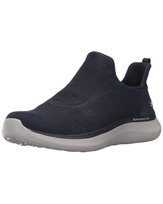 Skechers - Blue Quantum Flex Sneaker for Men - Lyst