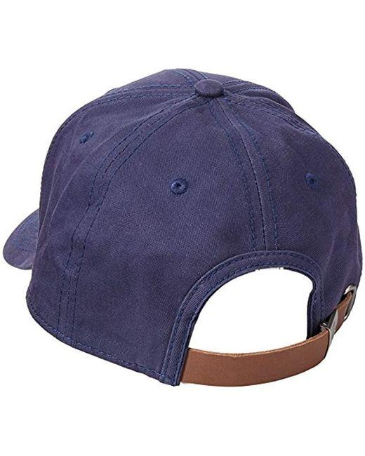 93fec801c1431 Lyst - Original Penguin Patch Baseball Cap in Blue for Men - Save 57%