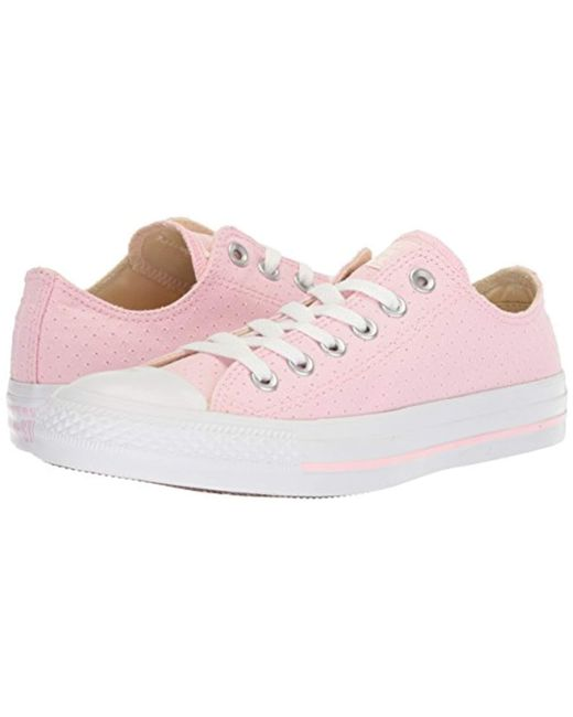 1d9c57515bc0 ... Converse - Multicolor Chuck Taylor All Star Perforated Canvas Low Top  Sneaker - Lyst ...