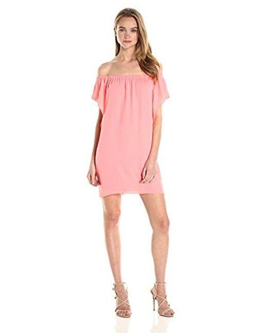 Amanda Uprichard - Pink Castaway Dress - Lyst ... d3fedd733