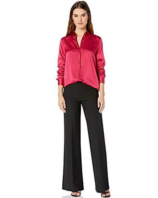 7d4a73727be40 ... Equipment - Essential Hammered Silk Shirt - Lyst ...