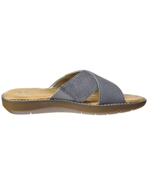924464add440 Lyst - Aerosoles A2 By Cool Breeze Slide Sandal in Blue - Save 39%