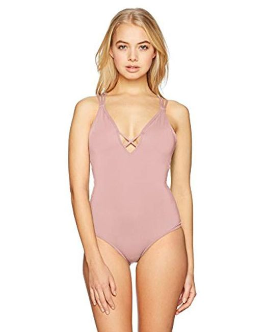 c2c59300792f3 O'neill Sportswear - Multicolor Salt Water Solids One Piece Swimsuit - Lyst  ...