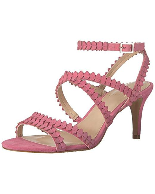 Vince Camuto - Pink Yuria Heeled Sandal - Lyst