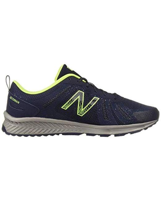 e464784c482b6 ... New Balance - Blue 590v4 Fuelcore Trail Running Shoe for Men - Lyst ...