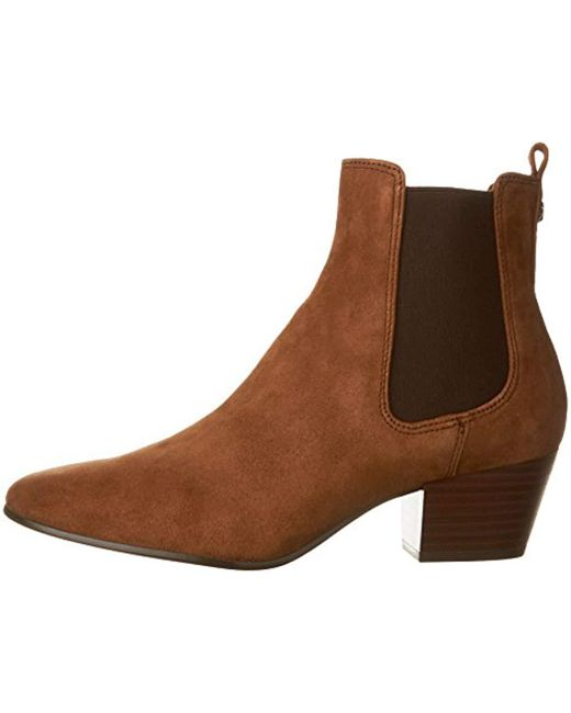 e420c5b31 Lyst - Sam Edelman Reesa Ankle Bootie in Brown - Save 48%