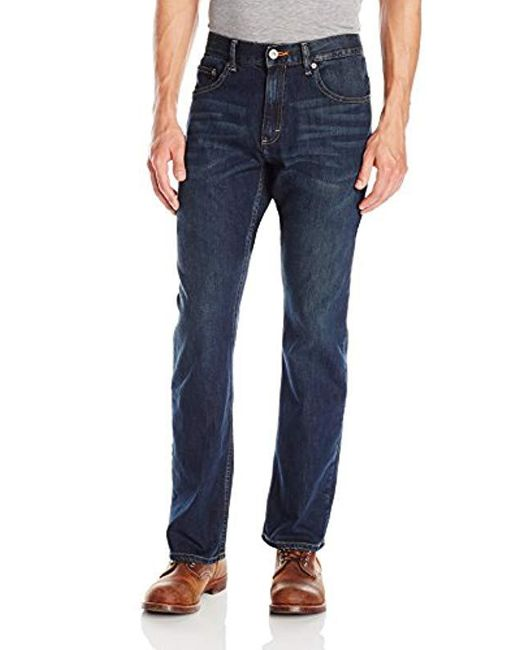 5248e2cbdc3 Lee Jeans - Blue Modern Series Relaxed Fit Bootcut Jean for Men - Lyst ...