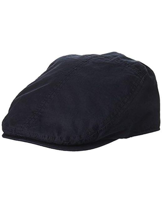 664643b4906 Dockers - Blue Ivy Newsboy Hat for Men - Lyst ...