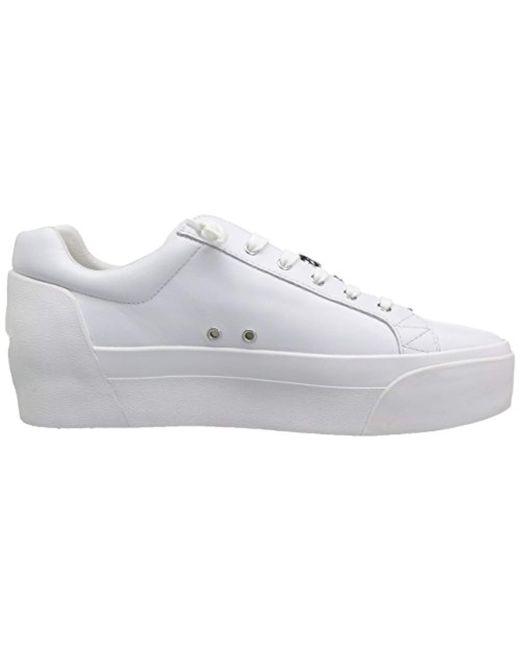 27448323b218 Lyst ash buzz sneaker red in white jpeg 520x650 Ash buzz sneakers