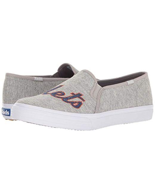71e8f84bdc4 Lyst - Keds Double Decker Mlb Fashion Sneaker in Gray - Save 35%