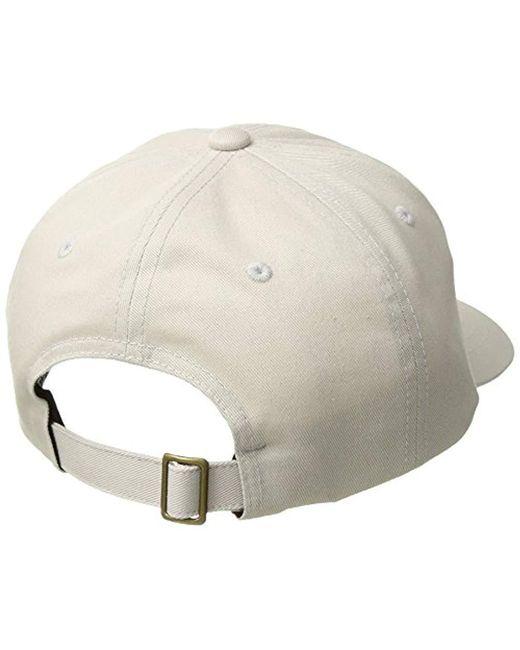 2bd18b4746a ... Brixton - Multicolor Wheeler Low Profile Adjustable Hat for Men - Lyst  ...