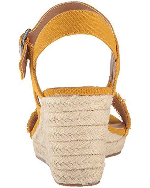 f2d160016c5 ... Lucky Brand - Multicolor Mindra Espadrille Wedge Sandal - Lyst ...