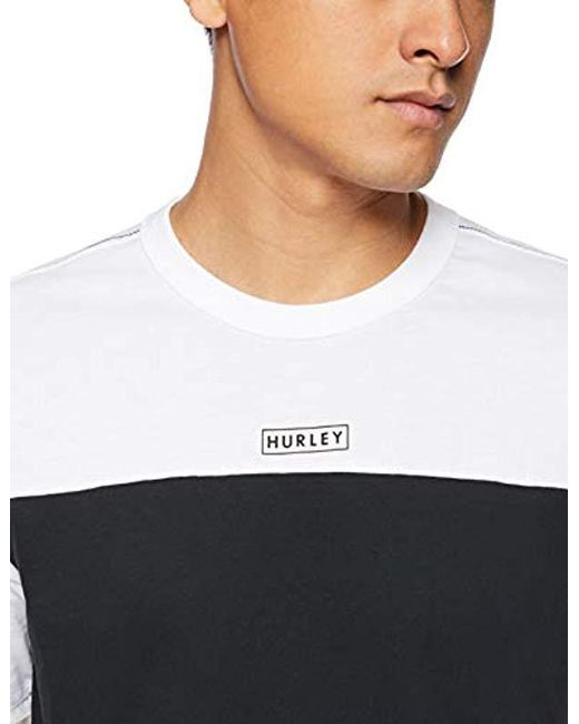 4488bf5c ... Hurley - Black Nike Dri-fit Premium Short Sleeve Tshirt for Men - Lyst  ...