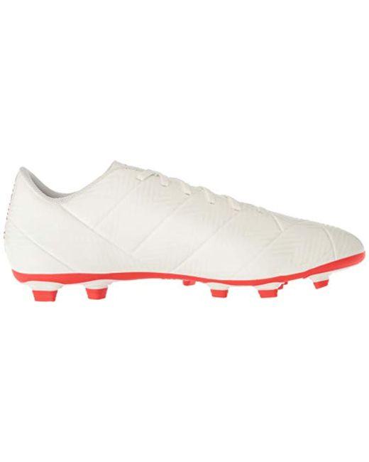 792491cd3 ... Adidas - White Nemeziz 18.4 Firm Ground Soccer Shoe for Men - Lyst ...