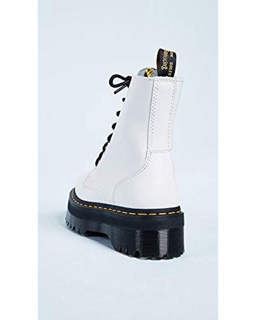 f5f4ee26835d Lyst - Dr. Martens Jadon Boot in White for Men - Save 25%