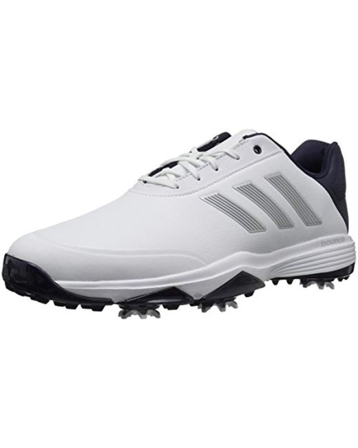 hot sale online f4727 56538 Adidas - Multicolor Golf Adipower Bounce Golf-shoes for Men - Lyst ...