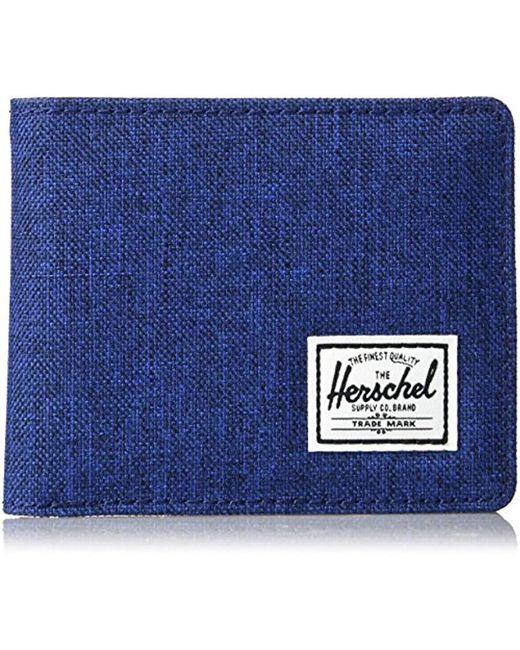 Herschel Supply Co. - Blue Hank Wallet for Men - Lyst