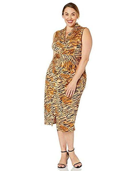RACHEL Rachel Roy Multicolor Plus Size Bret Dress