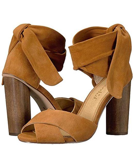 c5787ff5b0e Lyst - Splendid Johnson Dress Sandal in Brown - Save 53%