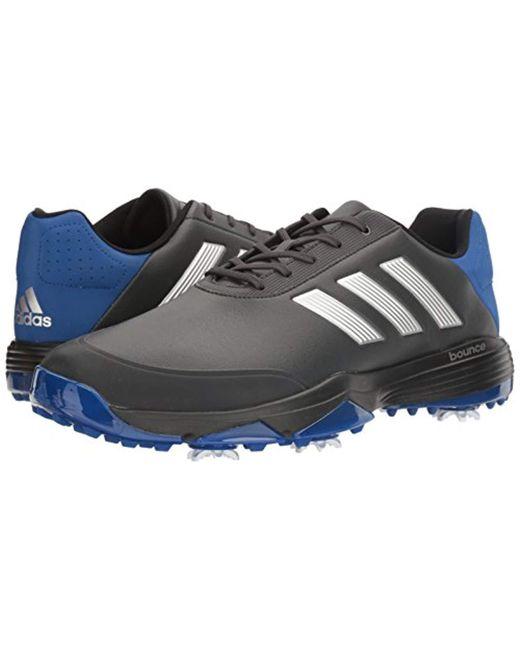 999db8b8641a7 ... Adidas - Black Adipower Bounce Wd Ftwwht Golf Shoe for Men - Lyst ...