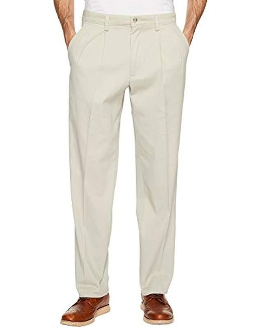 Dockers - Natural Classic Fit Easy Khaki Pants-pleated D3 for Men - Lyst